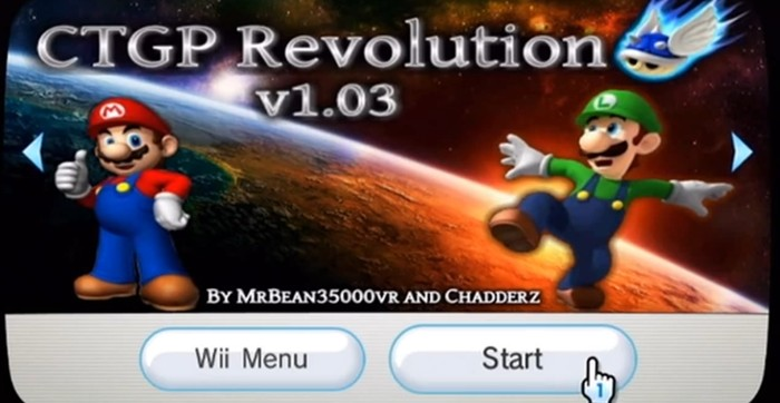 CTGP-R can be installed as a custom Wii Channel